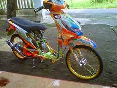 Motor Modifikasi by Modifikasi Motor Honda Beat Drag Style Modifikasi Motor