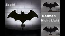 batman eclipse light batman wall light l youtube