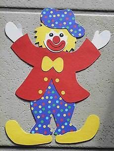 clown malvorlagen ausdrucken selber machen fensterbild tonkarton karneval fasching clown poldi punkte