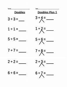 addition worksheets doubles plus one 8828 doubles plus 1 worksheet by lipori teachers pay teachers