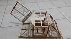 gabbia trappola uccelli gabbia cinciarella trappola inganno 2 scomparti posot class