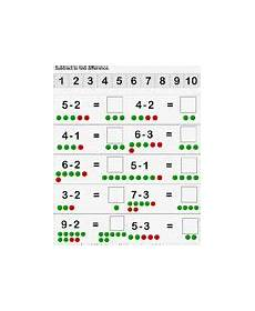 worksheets for counting numbers 8017 56 best subtraction kindergarten images on teaching math kindergarten math centers