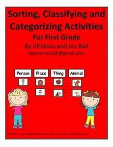 sorting and classification worksheets 7771 sorting classifying and categorizing activities for grade by moss