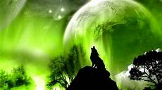 cool green wolf wallpaper moon meditation with archangel rafael on march 5
