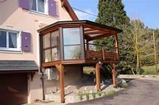 veranda sur pilotis installateur v 233 randa molsheim v 233 randa sur mesure bois