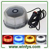 12V 240LED Car Truck Vehicle Beacon Light Magnetic Flash