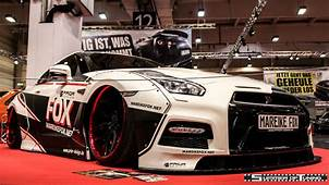 Nissan GT R Mareike Fox  Widebody Pinterest Gt