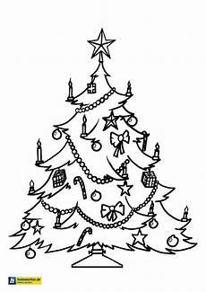 Kostenlose Malvorlagen Weihnachtsbaum Weihnachtsbaum Ausmalbild Ausmalbilder