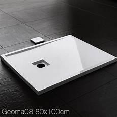 Mineralguss Duschwanne Erfahrungen - duschwanne duschtasse 4cm superflach geoma08 wei 223