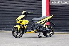 Aerox 125 Modif by Gaya Modifikasi Yamaha Aerox 125lc