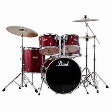 Pearl Export Standard 5 Drum Set With Hardware Wine