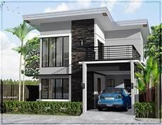 64 Desain Rumah Minimalis 2 Lantai Dengan Balkon Desain
