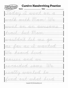 cursive handwriting worksheets for 8th grade 22019 6th grade cursive handwriting worksheets