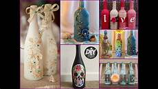 Handmade Home Decor Ideas From Recycled Materials by 70 Wine Bottles Decor Ideas Diy Room Decor Using