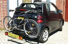 paulchen roof racks rear carrier bicycle for smart fortwo