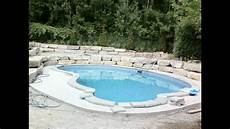 pool doctors custom pool build 16 x 32 youtube