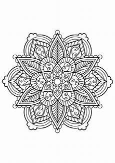 mandala from free coloring books for adults 28 mandalas
