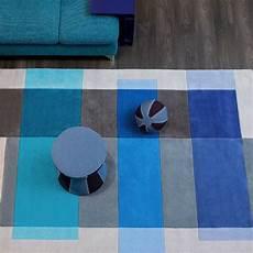 Tapis Design Gris Et Bleu Par Arte Espina