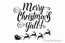 merry christmas yall svg