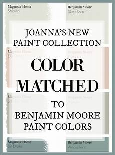 fixer upper s joanna gaines has a new paint line and this site has color matched every color