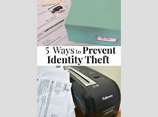 how to prevent identity theft tips