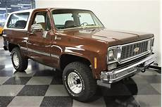 Mighty 1977 Chevrolet K5 Blazer Classiccars Journal