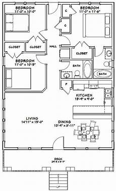 30x40 house floor plans 30x40 house 3 bedroom 2 bath 1200 sq ft pdf floor etsy