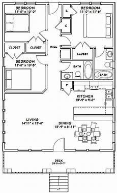 30x40 house floor plans 30x40 house 3 bedroom 2 bath 1200 sq ft pdf floor etsy