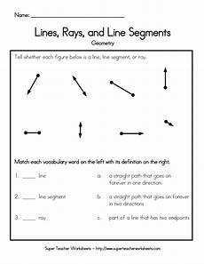 geometry lines worksheets 791 lines rays and line segments worksheet name lines rays and line segments geo with images