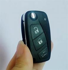 replacement for fiat panda grande remote key shell 3