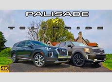 NEWCOMER BATTLE!    2020 Hyundai Palisade vs. 2020 Kia
