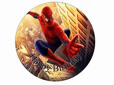 spiderman 7 edible cake topper for sale in dalkey dublin from flour power