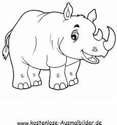 Bilder Zum Ausmalen Nashorn Ausmalbild Nashorn Zum Ausdrucken