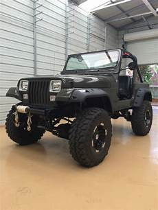 1990 jeep wrangler yj with 9 inch of lift frame all