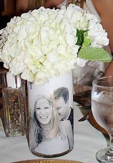 incorporating photos flowers easy diy centerpieces for