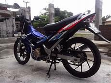 Stiker Motor Satria Fu by Jual Striping Stiker Suzuki Satria Fu Thailand Biru Di