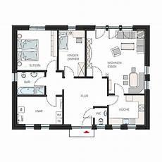 Kleine Bungalows Grundrisse - ausbauhaus bungalow 187 fertigbungalow g 252 nstig