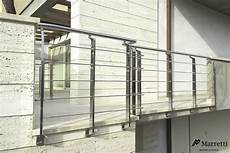 corrimano per esterni exterior metal banisters in stainless steel by marretti