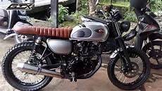 Kawasaki W175 Modif modifikasi kawasaki w175 gtx motorcustom bali