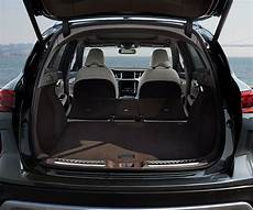 2019 qx50 crossover cargo space details and area