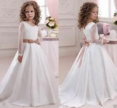 2016 Robe De Communion Princesse Fille Mariage Robe