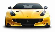 yellow f12tdf car front png image pngpix - Auto Vorne