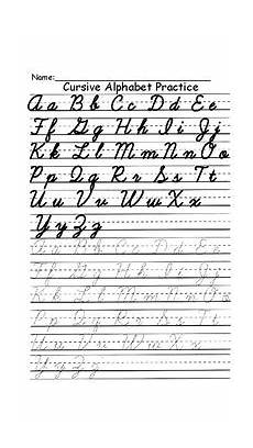 cursive alphabet practice sheets english with letter 209