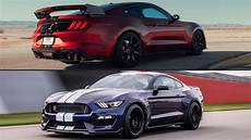2020 ford shelby mustang gt500 vs gt350 how they re