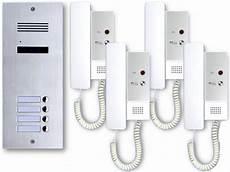 Interphone Maison De 4 Famille 2 Draht Audio Interphone