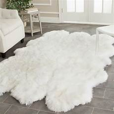 Fluffy Area Rugs fluffy white rug a small floor feature for ultimate