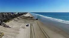 topsail island sand push aerial view youtube