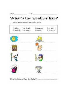 whats the weather like today esl worksheet by becreative45