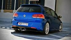golf 6 r tuning teile rear side splitters vw golf vi r gloss black our offer
