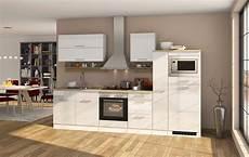 Einbauküche Mit Elektrogeräten - k 252 chenzeile mit elektroger 228 ten k 252 chenblock mit e ger 228 ten